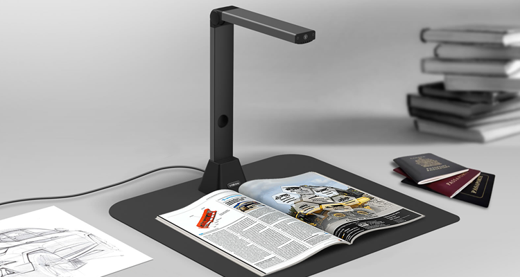 iriscan desk book scanner